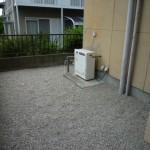 砂利敷き施工
