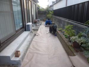 福岡市早良区原 防草工事